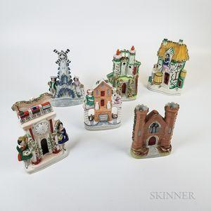 Six Staffordshire Buildings