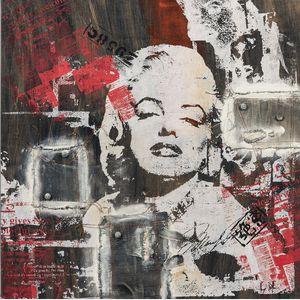 American School, 20th/21st Century      Marilyn Monroe Collage.