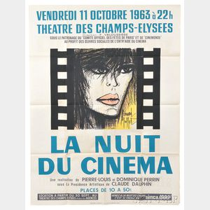 After Bernard Buffet (French, 1928-1999)      La nuit du cinema