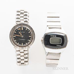 "Bulova Accutron ""Astronaut"" and Timex SSQ Wristwatches"