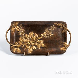 Bronze Tray After August Ferlet