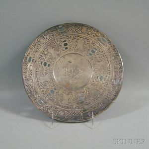 Mauser Reticulated Sterling Silver Low Tazza