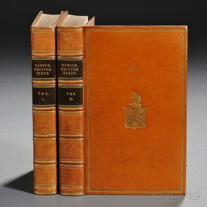 Bewick, Thomas (1753-1828) A History of British Birds  , Volumes One and Two.