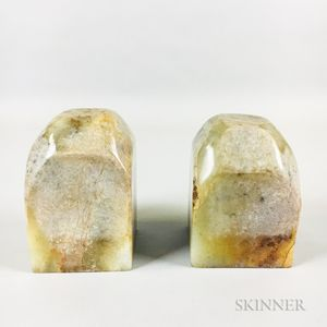 Pair of Stone Chops