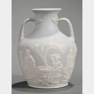 Buffalo Pottery Copy of the Portland Vase