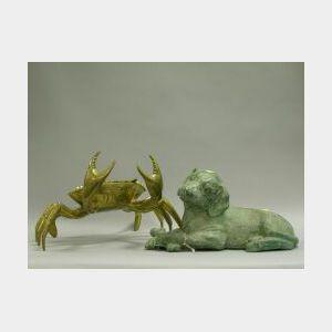 Bronze Dog and Brass Crab.