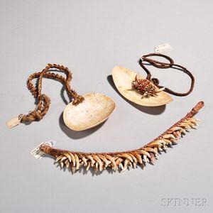 Three New Guinea Necklaces