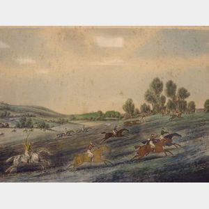 Framed Print St. Albans Grand Steeple Chase