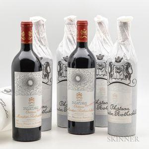 Chateau Mouton Rothschild 2002, 6 bottles