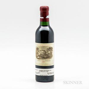 Chateau Lafite Rothschild 2000, 1 demi bottle