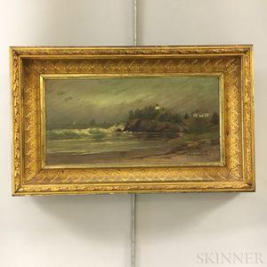 A.B. Kirkpatrick (Massachusetts/Maine, 19th/20th Century)       Coastal View.