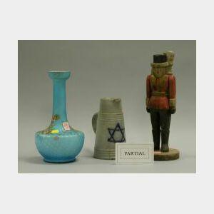 Five Assorted Vases, Figure and Jug