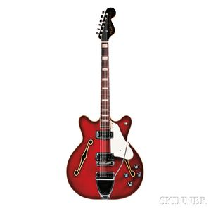 American Electric Guitar, Fender Electric Instruments, 1968-69, Model Coronado II