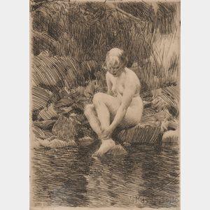 Anders Zorn (Swedish, 1860-1920)      Dagmar