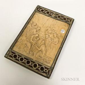 Molded Ceramic Religious Fragment