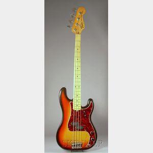 American Bass Guitar, Fender Electric Instruments, Fullerton, 1973