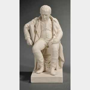 Copeland Parian Figure of Napoleon