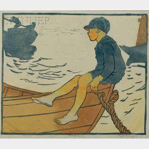 Eliza Draper Gardiner (American, 1871-1955)      On the Boat
