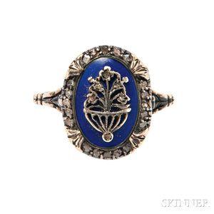 Georgian Poison Ring