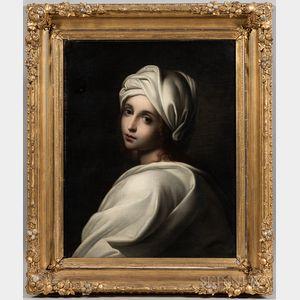 After Guido Reni (Italian, 1575-1642)      Copy of Portrait of Beatrice Cenci