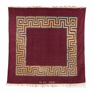 Art Deco Dhurrie Carpet
