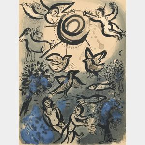 Marc Chagall (French/Russian, 1887-1985)      Création