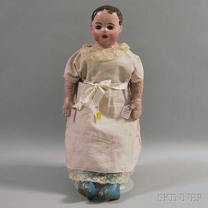 Alabama Cloth Molded Face Doll