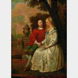 Attributed to Daniel Gardner (British, 1750-1805)    Lady Catherine Powlett (Daughter of the Duke of Bolton)
