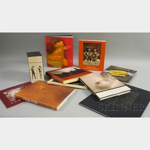 Ten Assorted Photography and Art Books