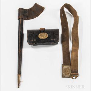 Three Leather Items