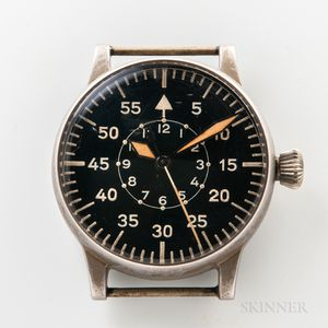 "A. Lange & Sohne B-Uhr WWII ""Observation"" Watch"