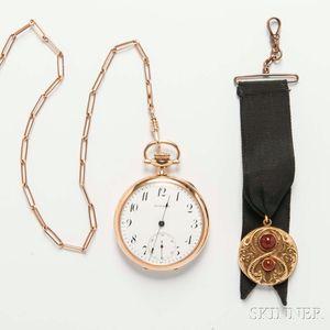 Howard 14kt Gold Pocket Watch