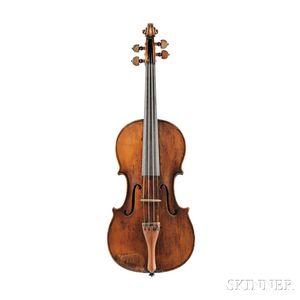 French Violin, Benoist Fleury, Paris, France, 1789