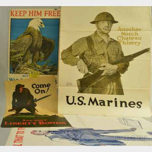Ten WWI and Liberty Bond Posters