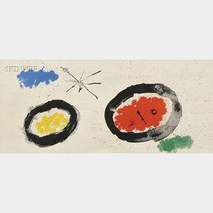 Joan Miró (Spanish, 1893-1983)      Tête étoile