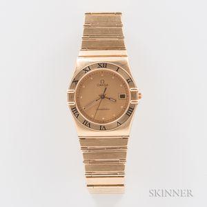 Omega 18kt Gold Constellation Quartz Wristwatch