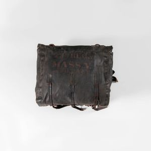 Knapsack Identified to Private John Daly, Company H, 23rd Massachusetts Volunteer Infantry
