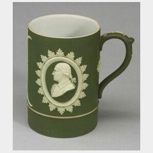 Wedgwood Olive Green Jasper Dip Mug