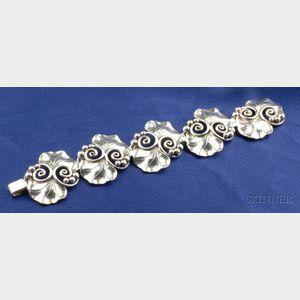 Sterling Silver Bracelet, Georg Jensen, LaPaglia