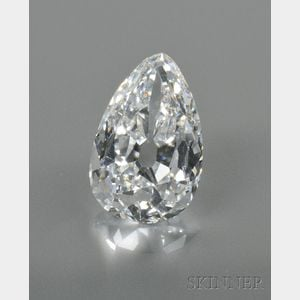 Sold for: $474,999 - Important Unmounted Diamond