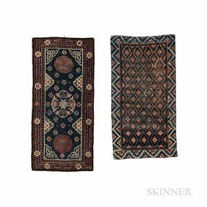 Two Tibetan Rugs