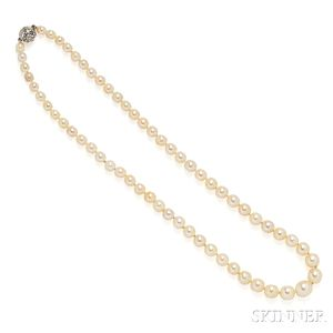 Antique Pearl Necklace, Tiffany & Co.
