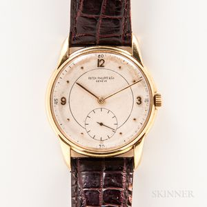 Patek Philippe 18kt Gold Manual-wind Wristwatch