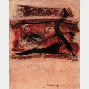 John Way [Wei Letang] (Chinese/American, 1921-2012)      Abstract