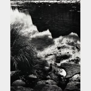 Ansel Adams (American, 1902-1984)      Merced River, Reflection, Yosemite National Park