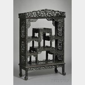 Blackwood Display Cabinet