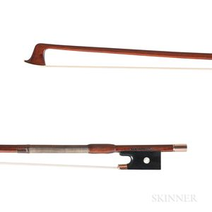 Gold-mounted Violin Bow, Leopold Pfretzschner