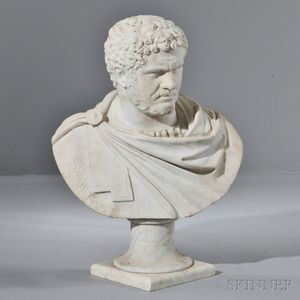 Italian Marble Bust of Emperor Nero