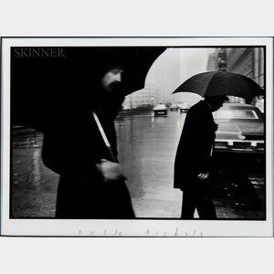 Duane Michals (American, b. 1932)      New York