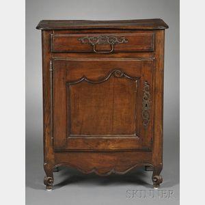 Louis XV Rococo-style Oak and Beechwood Side Cabinet